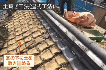 土葺き工法
