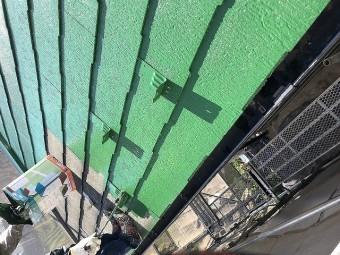 屋根中塗り2