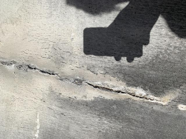 長浜市で雨漏りをするとの事で現場調査に伺いました。