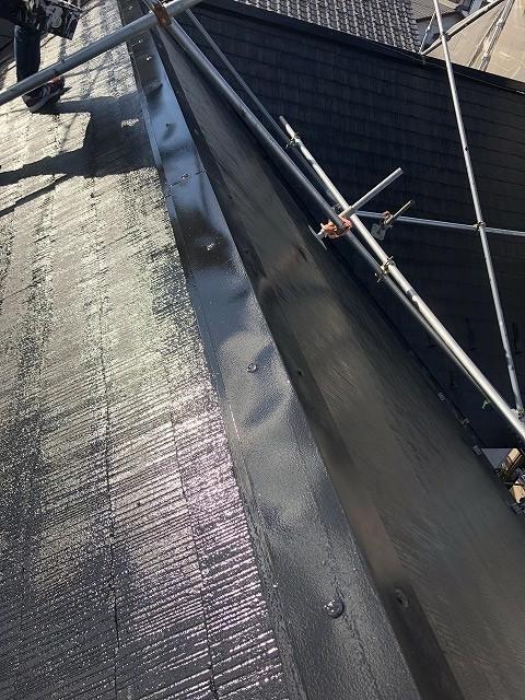 カラーベスト屋根上塗り2