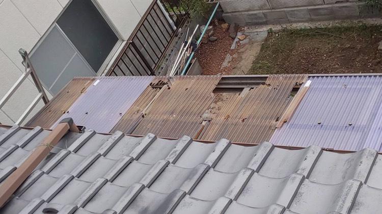 米原市の屋根工事④