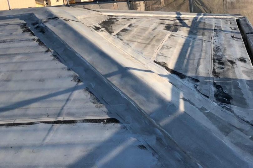 米原市のアパート屋根防水現場調査④