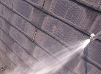 彦根市M様邸屋根洗浄写真