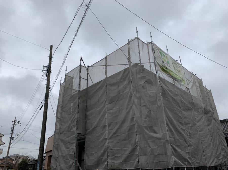彦根市のH様邸、追加でエルボ(雨樋)取付工事と外壁塗装工事