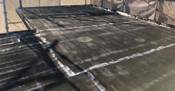 屋上防水工事前写真②