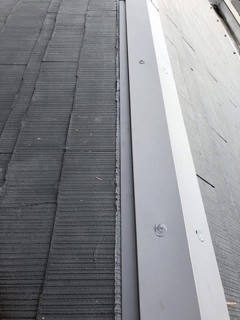 米原市アパート棟板金設置写真④