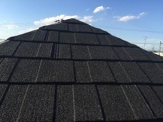 屋根レコルーフ 完成写真