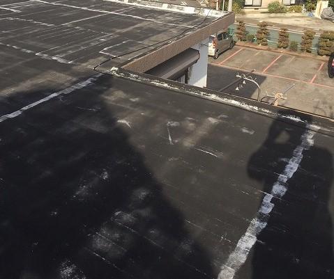 陸屋根シート防水