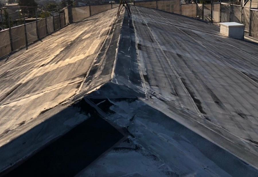 米原市のアパート屋根防水現場調査⑤
