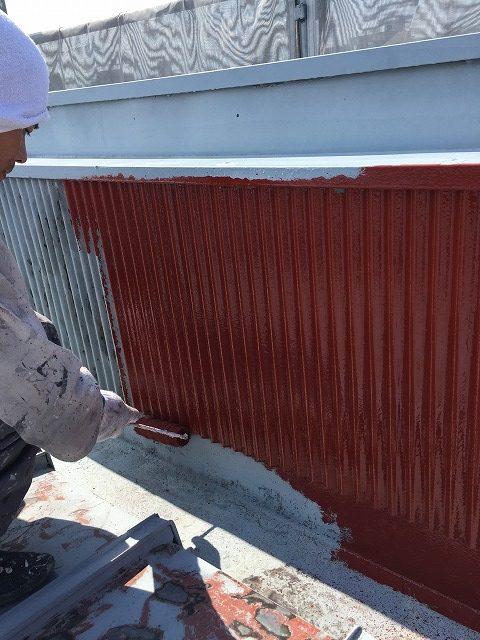 屋根下塗り4