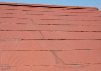 マンション一号棟の屋根
